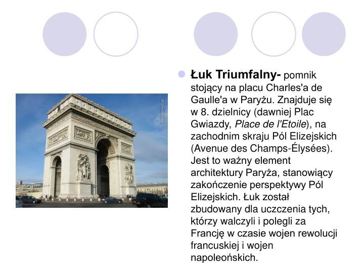 Łuk Triumfalny-