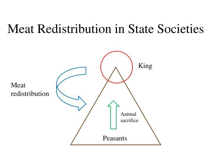 Meat Redistribution in State Societies
