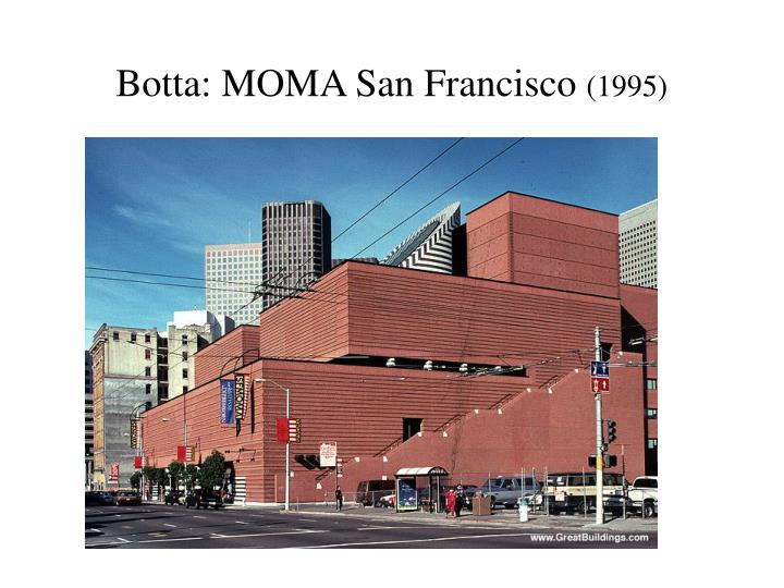 Botta: MOMA San Francisco