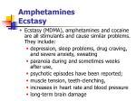 amphetamines ecstasy