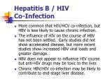 hepatitis b hiv co infection