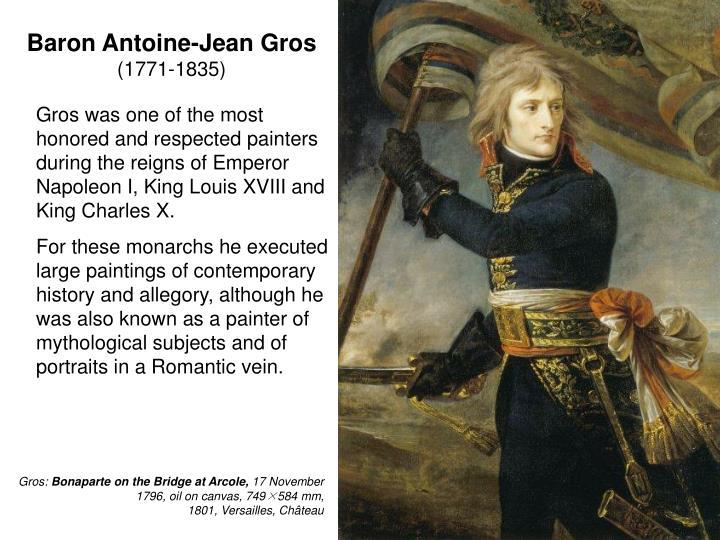 Baron Antoine-Jean Gros