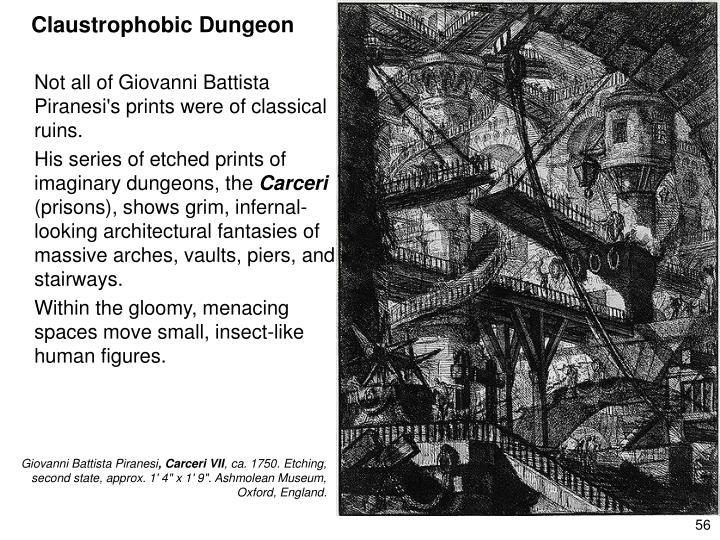 Claustrophobic Dungeon