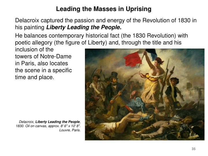 Leading the Masses in Uprising