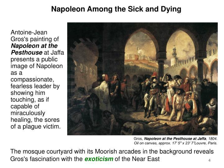 Napoleon Among the Sick and Dying
