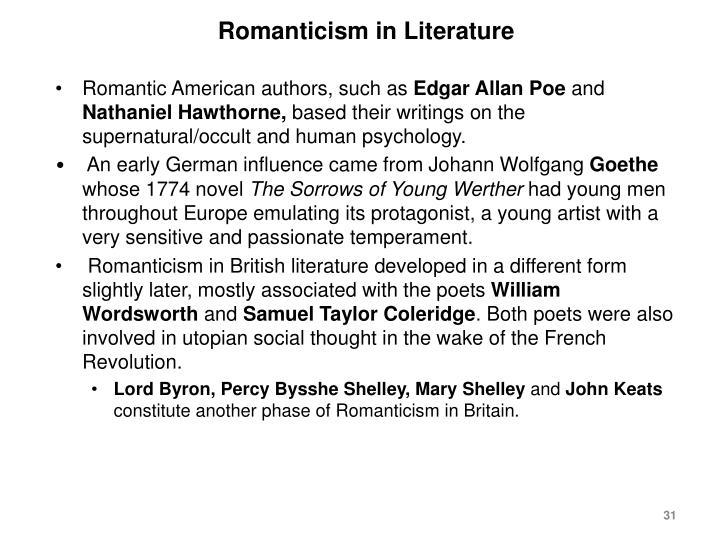 Romanticism in Literature