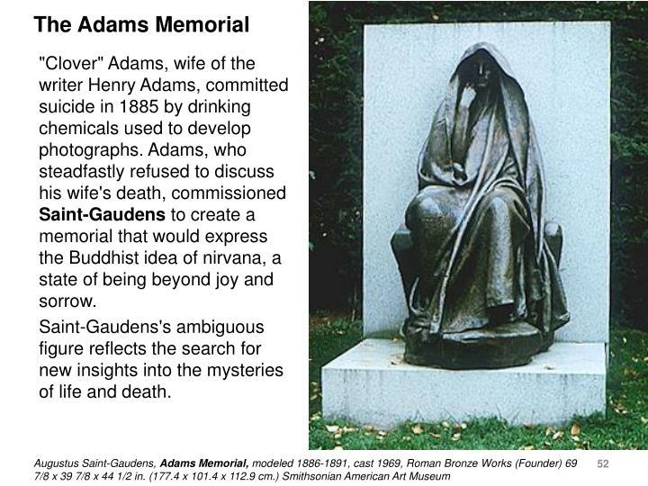 The Adams Memorial