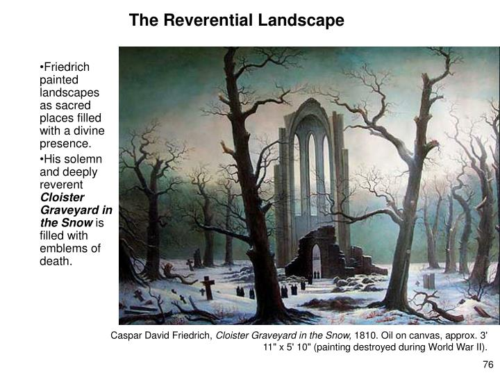 The Reverential Landscape