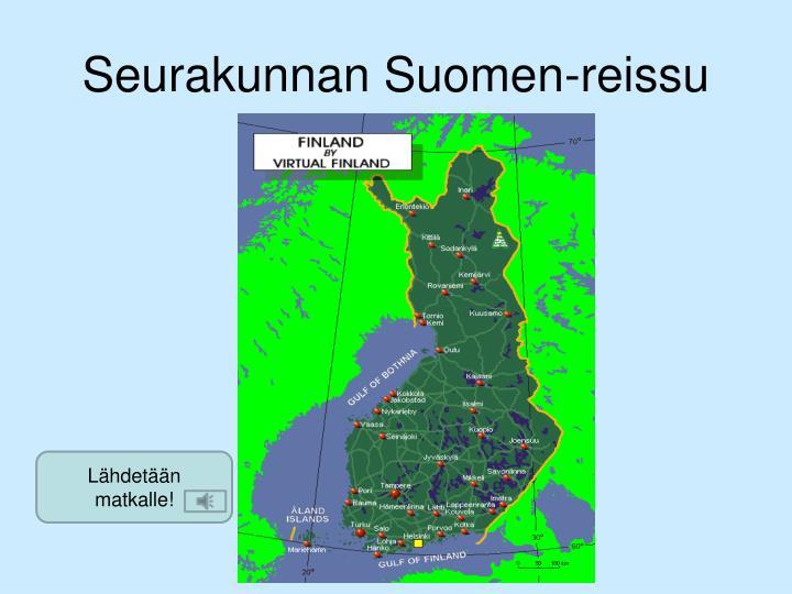 Seurakunnan Suomen-reissu