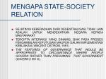 mengapa state society relation