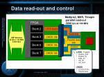 data read out and control3