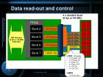 data read out and control4
