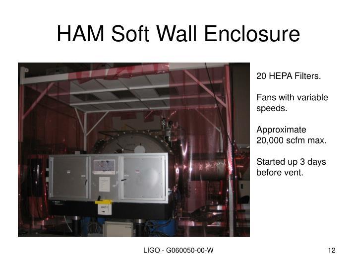 HAM Soft Wall Enclosure