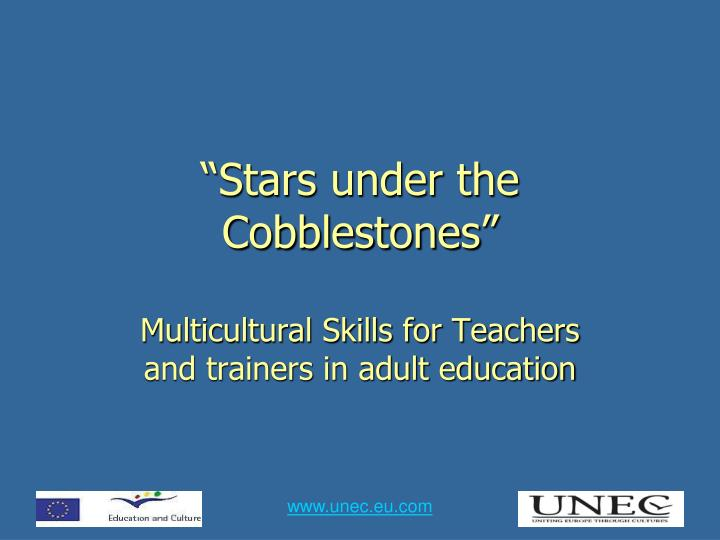 Stars under the cobblestones