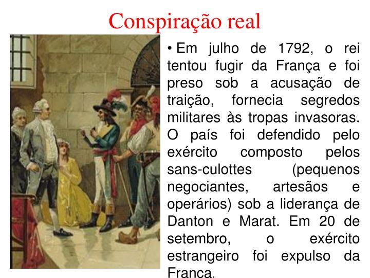 Conspiração real