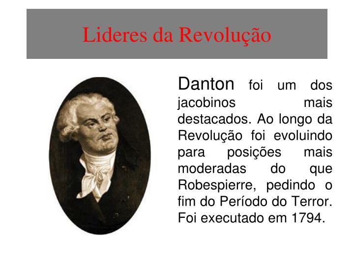 Lideres da Revolução