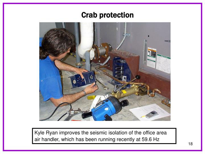 Crab protection