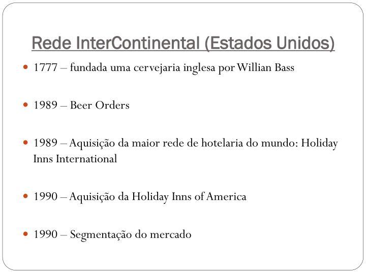 Rede InterContinental (Estados Unidos)