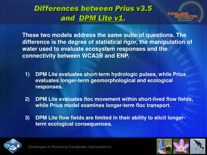 Differences between Prius v3.5 and