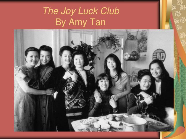 suyuan's tragedies in the joy luck The joy luck club is a 1989 novel written by amy tan it focuses on four chinese american immigrant families in san francisco who start a club known as the joy luck club, playing the chinese game of mahjong for money while feasting on a variety of foods the book is structured somewhat like a mahjong game, with four parts divided into four.