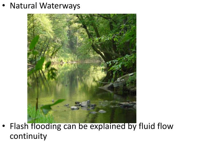 Natural Waterways