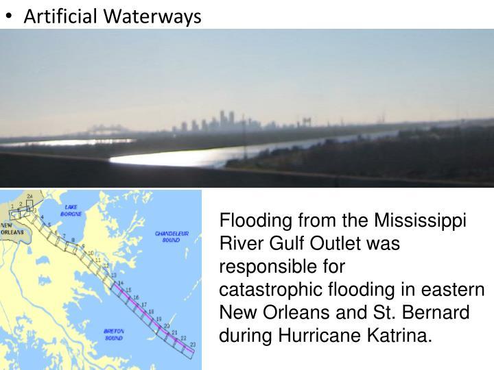 Artificial Waterways
