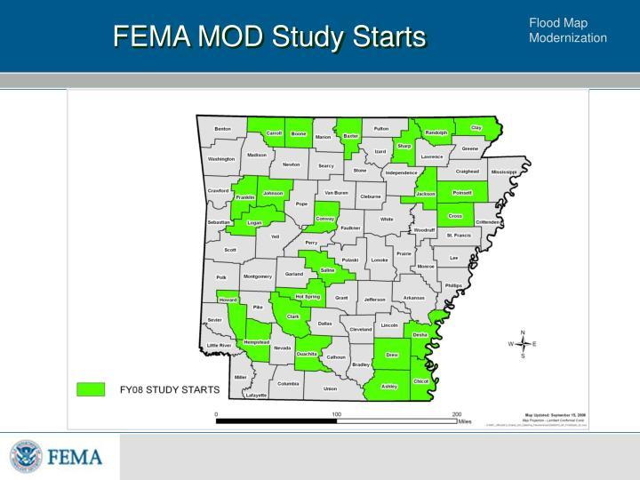 FEMA MOD Study Starts