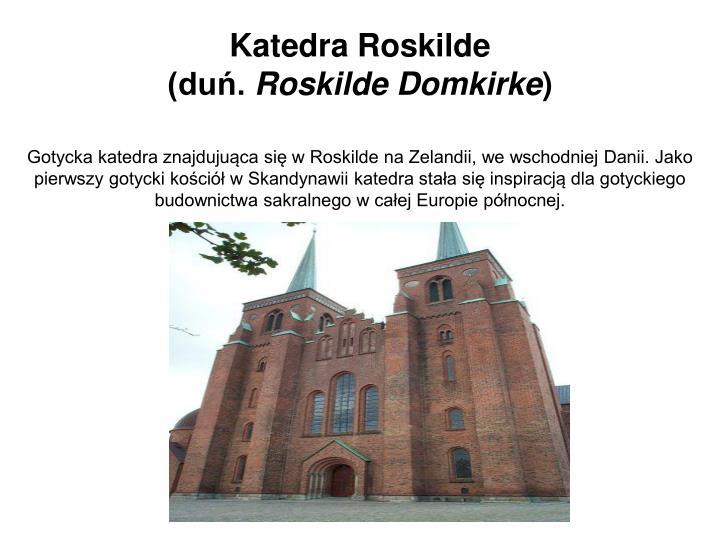 Katedra Roskilde
