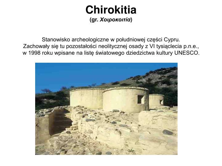 Chirokitia