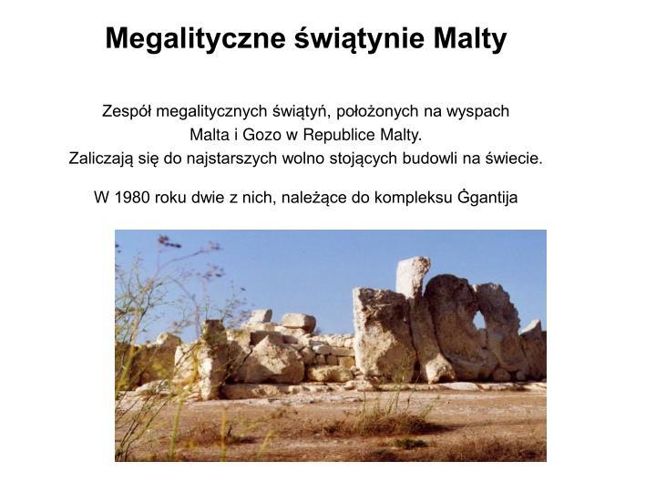 Megalityczne świątynie Malty