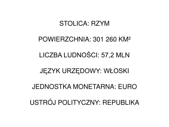 STOLICA: RZYM