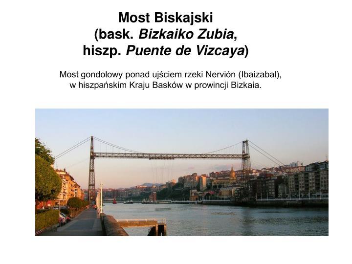 Most Biskajski