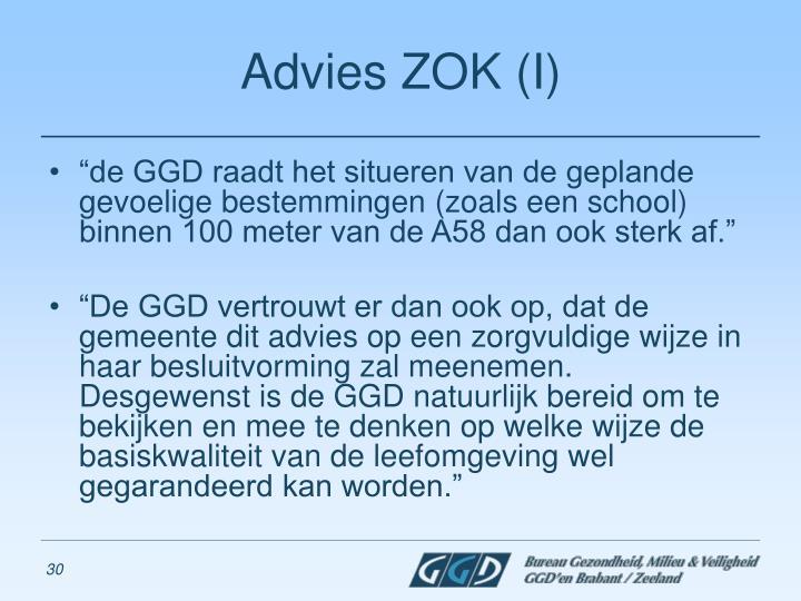 Advies ZOK (I)