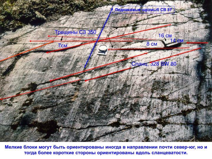 Ледниковые шрамыб СВ 87