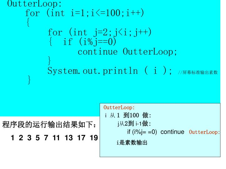OutterLoop: