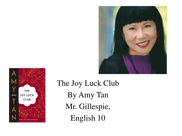 amy tan critical essays In her story mother tongue, amy tan describes her relationship with her mother, who speaks broken english essentially  more north american essays:.