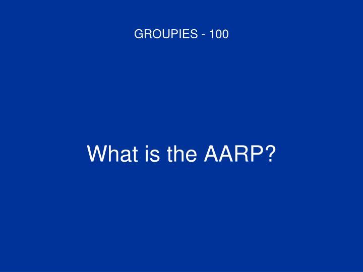 GROUPIES - 100