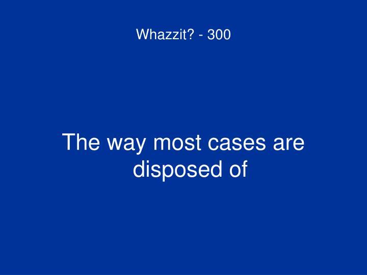 Whazzit? - 300