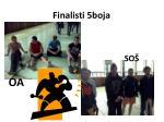 finalisti 5boja
