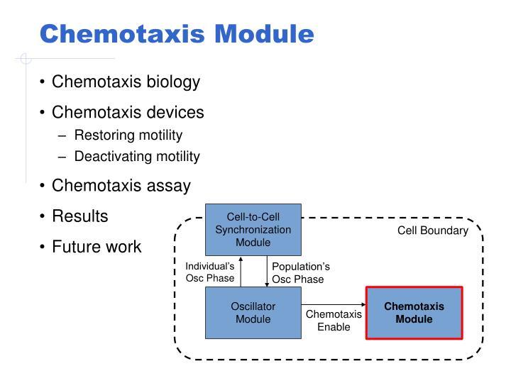 Chemotaxis Module