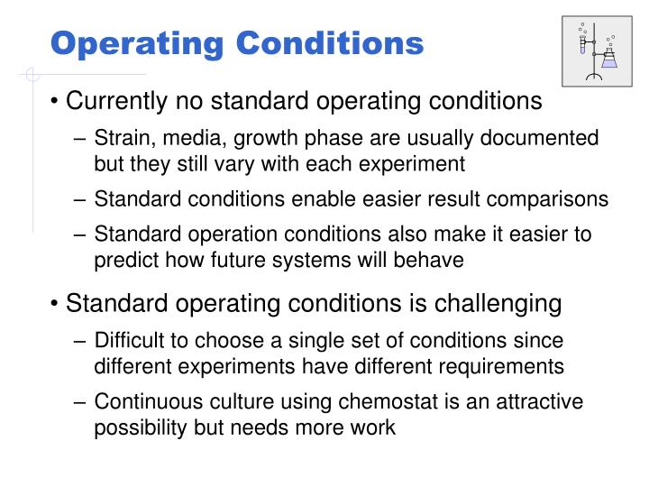 Operating Conditions