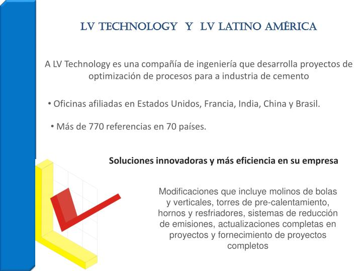 LV Technology  Y  LV Latino AMÉRICA