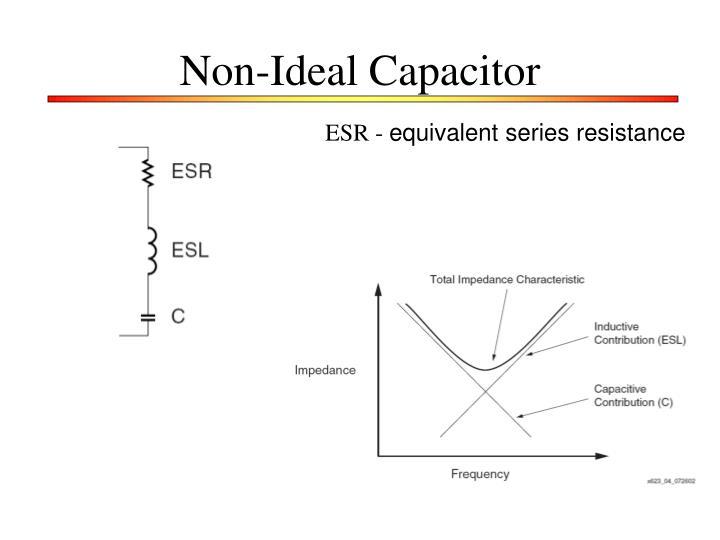 Non-Ideal Capacitor