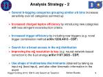 analysis strategy 2