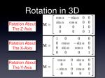 rotation in 3d2