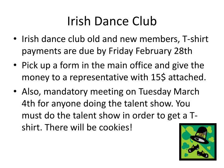 Irish Dance Club