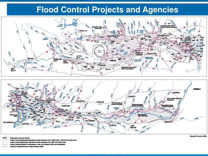 Flood Control Projects and Agencies
