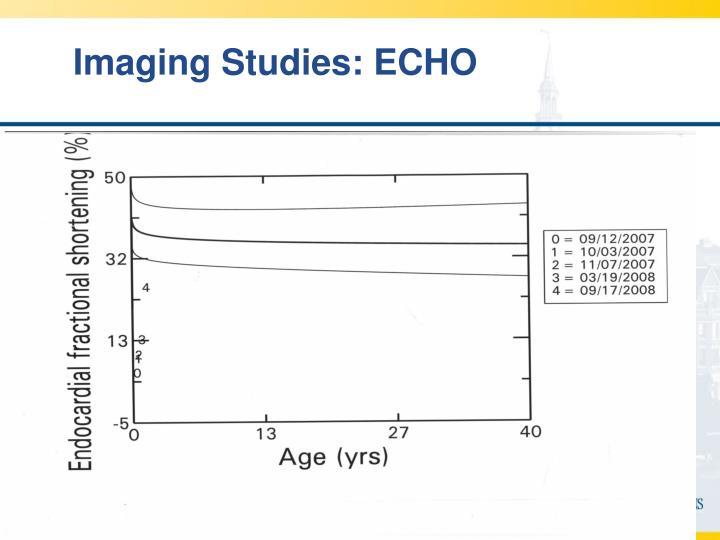 Imaging Studies: ECHO
