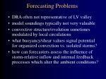 forecasting problems
