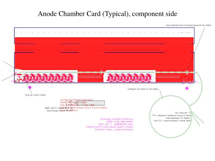 Anode Chamber Card (Typical), component side